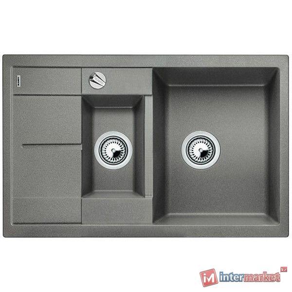 Кухонная мойка Blanco Metra 6 S compact - алюметаллик (513553)