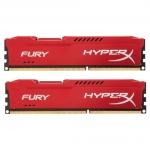 Комплект модулей памяти Kingston HyperX Fury, HX318C10FRK2/16, DDR3, 16 GB