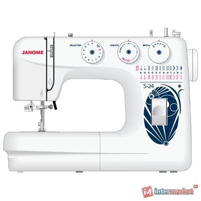 Электромеханическая швейная машина Janome S-24