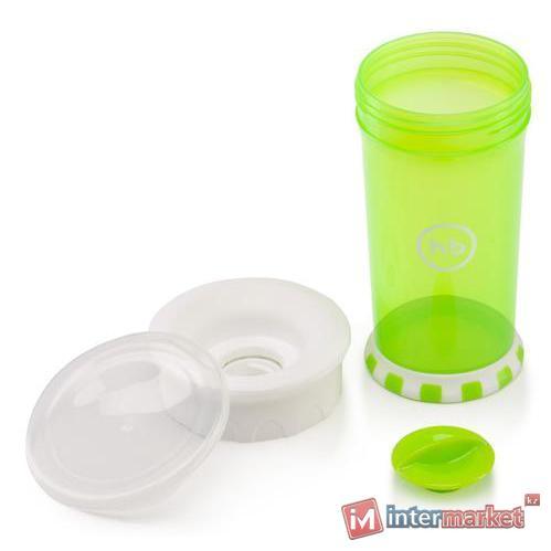 Кружка-поильник Happy Baby Drinking cup 360° Grass