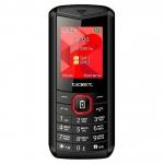 Мобильный телефон Texet TM-D206, черно-красный