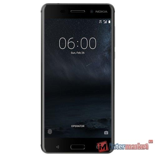 Смартфон Nokia 6 DS EAC UA, 16gb, Matte Black