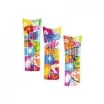 Пляжный матрас для плавания Fashion 183 x 69 см, Bestway, 44033, Винил, Цвет в ассортименте, Пакет